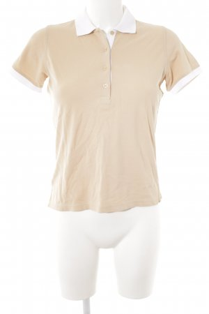 Jacques britt Polo-Shirt nude-weiß Casual-Look