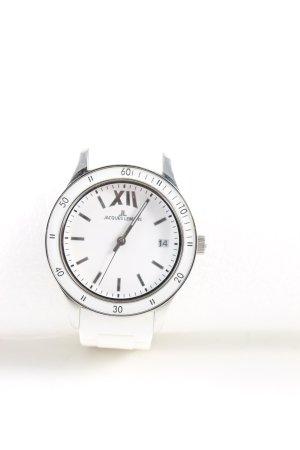 Jacques Lemans Analoog horloge wit zakelijke stijl
