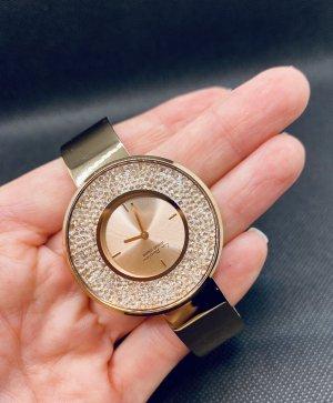 Jacques Lemans Uhr La Passion roségolden mit Swarovski Kristallen