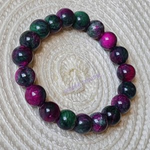 Mala Armband violet-bos Groen