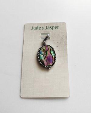 Jade & Jasper Ketten Armband Anhänger Charm Marmoriert Neu