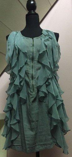 Jadefarbenes Kurzes Kleid von Vero Moda