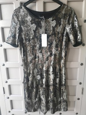 JADICTED Pailletten Kleid Luxus Kleid NEU Gr M
