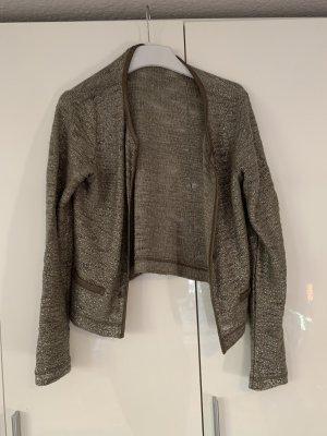 More & More Chaqueta estilo camisa gris claro