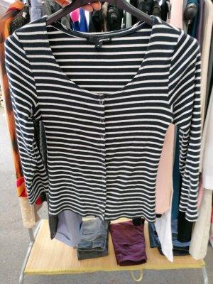 Tally Weijl Shirt Jacket white-black