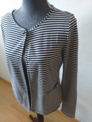 Marc O'Polo Sweat Jacket white-dark blue