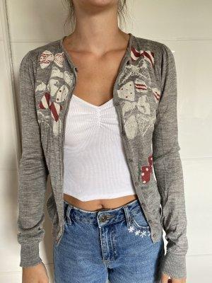 TWIST Giacca-camicia grigio chiaro