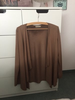 new collection Faux Leather Jacket brown