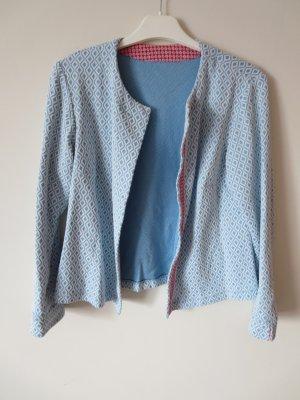 Jersey Blazer azul-blanco