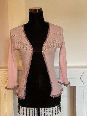 Chaqueta tipo blusa rosa claro-púrpura Viscosa