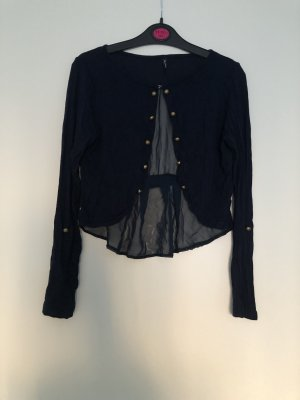Blouse Jacket dark blue