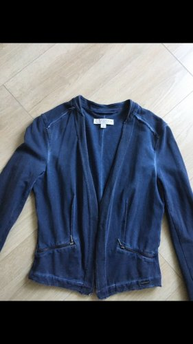 Comma Blazer in jersey blu