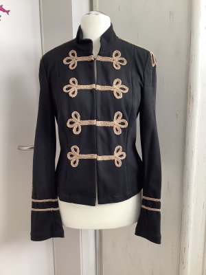 Apart Pea Jacket black-bronze-colored