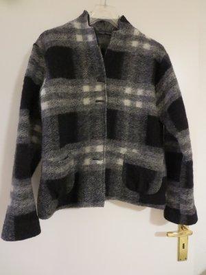 Hopsack Wool Jacket multicolored wool