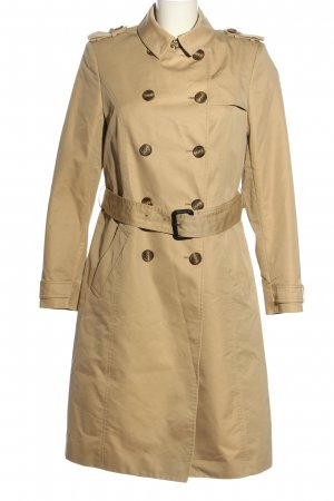 Jaeger Trenchcoat wollweiß Casual-Look