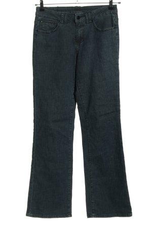 Jag Jeans flare bleu style décontracté