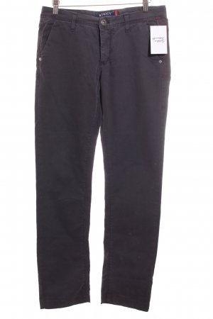 Jaggy Stoffhose anthrazit Casual-Look