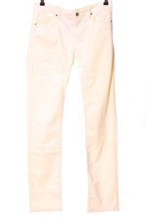 Jaggy Stoffhose creme Casual-Look