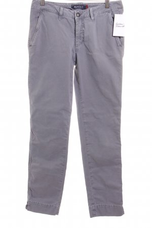 Jaggy Stoffhose grau Casual-Look