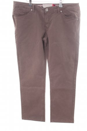 Jaggy Straight-Leg Jeans braun Casual-Look