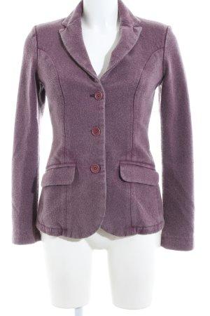 Jaggy Wool Blazer lilac business style