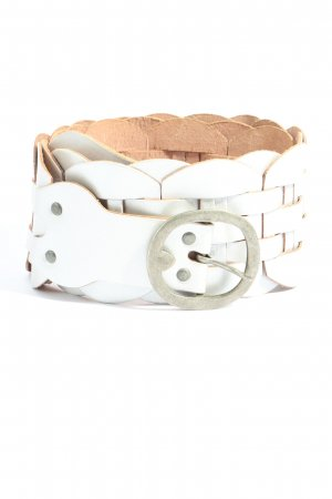 Jago Braided Belt white casual look