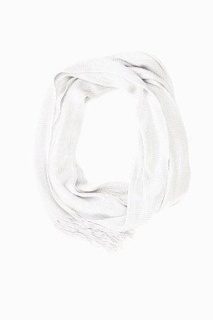 JAGO Tuch silber aus Acetat