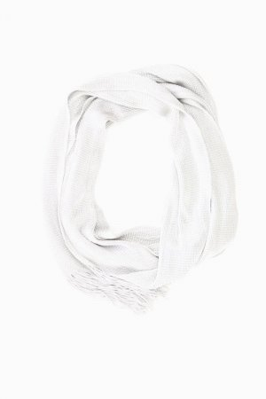 Jago Summer Scarf silver-colored acetate