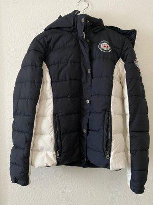 Soccx Down Jacket dark blue