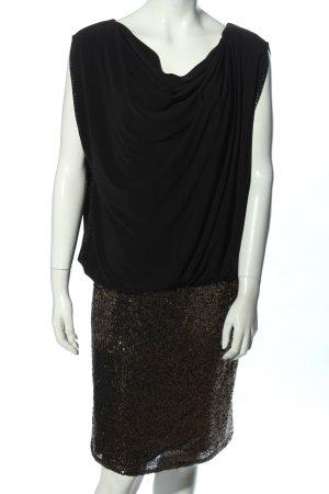 Jake*s Abendkleid schwarz-bronzefarben Elegant