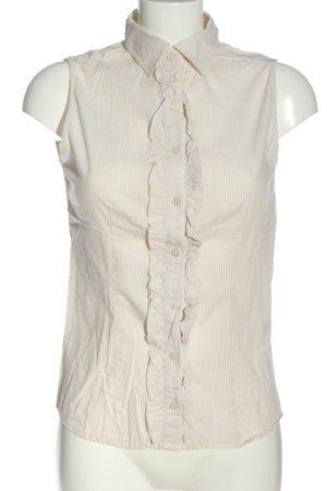 Jake*s ärmellose Bluse wollweiß-weiß Streifenmuster Casual-Look