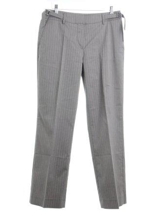 Jake*s Pantalon de costume marron clair motif rayé style décontracté