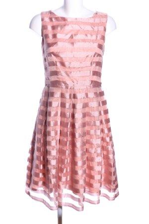 Jake*s Ballkleid pink Streifenmuster Elegant