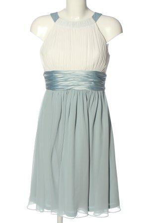 Jake*s Robe de bal turquoise-blanc élégant