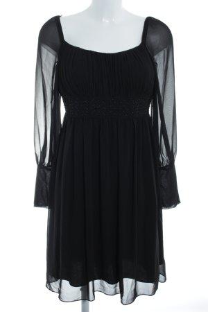 Jake*s Blusenkleid schwarz Elegant