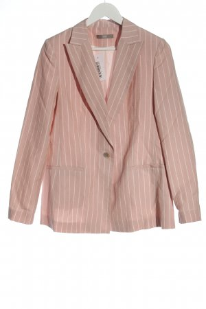 Jake*s Blazer stile Boyfriend rosa motivo a righe stile professionale
