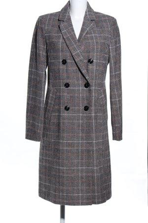 Jake*s Heavy Pea Coat check pattern casual look