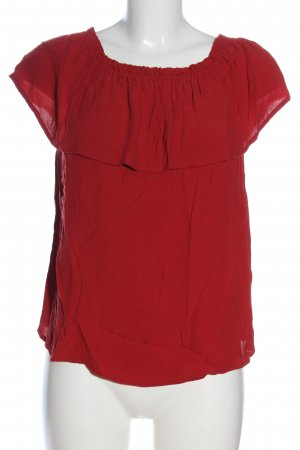 Jake*s Carmen-Bluse rot Casual-Look