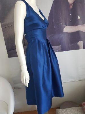 JAKE'S Cocktail Kleid Tanzen Events royalblau gefüttert wie neu 32 hoschek stil