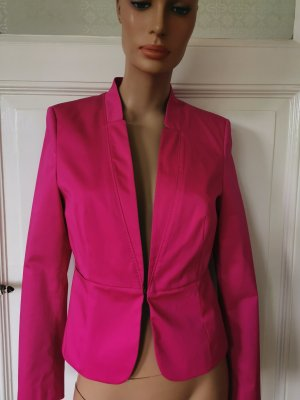 Jake*s Collection Jake's Blazer tailliert Baumwolle fuchsia pink Gr. 38 NEU
