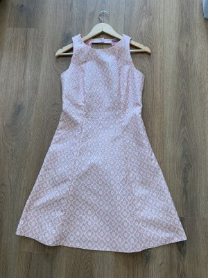 Jake*s Collection Kleid Cocktailkleid rose Koralle 36 S Muster