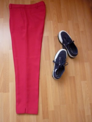 Jake*s 7/8 Length Trousers raspberry-red-magenta polyester
