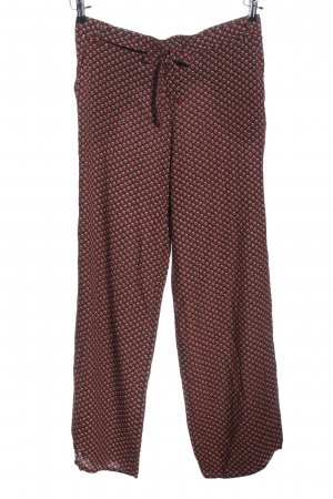 Jake*s Culottes rot Allover-Druck Casual-Look