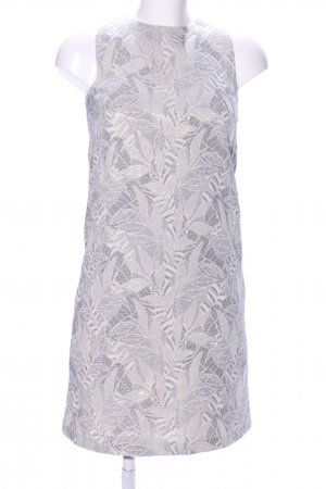 Jake*s Vestido cut out gris claro estampado floral elegante