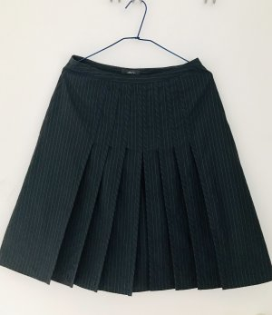 Jake*s Circle Skirt silver-colored-dark blue