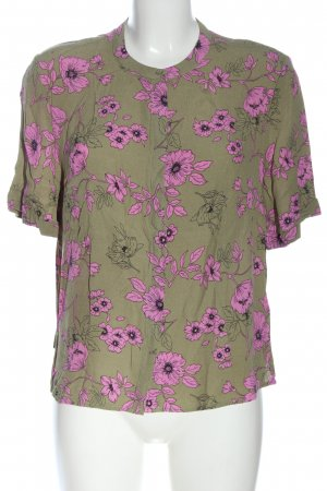 Jake*s Hemd-Bluse Allover-Druck Casual-Look