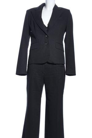 Jake*s Tailleur-pantalon noir style d'affaires