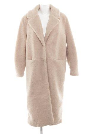 Jake*s Płaszcz ze sztucznym futrem różany W stylu casual