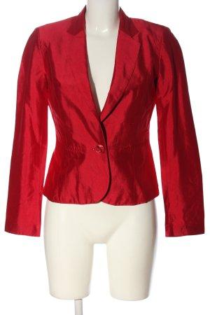 Jake*s Korte blazer rood casual uitstraling