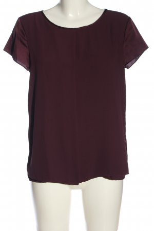 Jake*s Kurzarm-Bluse rot Casual-Look